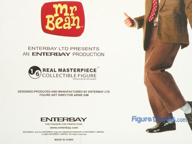 Enterbay Mr Bean Action Figure Box