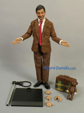 Mr Bean Enterbay Action Figure Overview