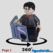 Harry Potter Minifigure - Lego Collectible Minifigures Harry Potter Series 2 - 71028