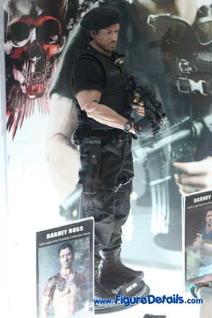 Hot Toys Barney Ross Action Figure Expendables MMS138