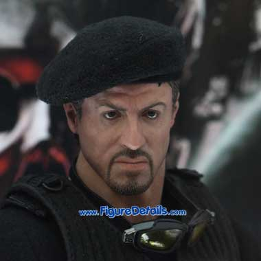 The Expendables Barney Ross Head Sculpt