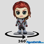 Black Widow Avengers Endgame Team Suit Cosbaby cosb552 - Hot Toys