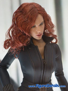 Iron Man 2 Black Widow Action Figure Close Up