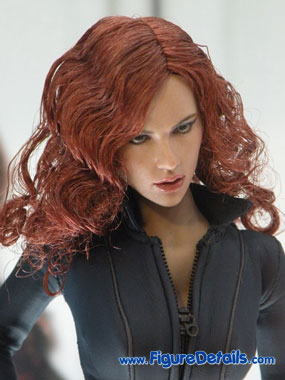 Iron Man 2 Black Widow Action Figure Close Up 2