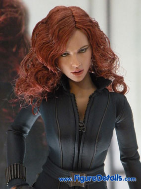 Iron Man 2 Black Widow Action Figure Close Up 3
