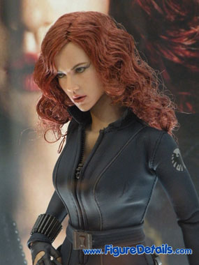 Iron Man 2 Black Widow Action Figure Close Up 5