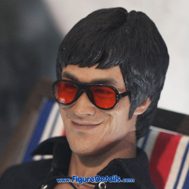 Bruce Lee Smiley Face Head Sculpt