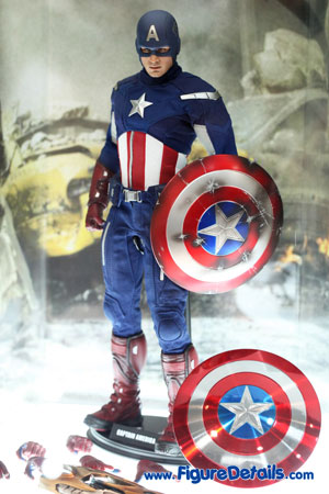Hot Toys Captain America Action Figure Overview - The Avengers