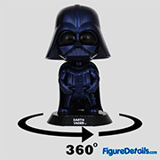 Darth Vader Metallic Blue Version Cosbaby cosb695 - Star Wars  - Hot Toys