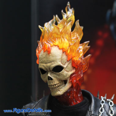 Ghost Rider Head Sculpt - Nicolas Cage