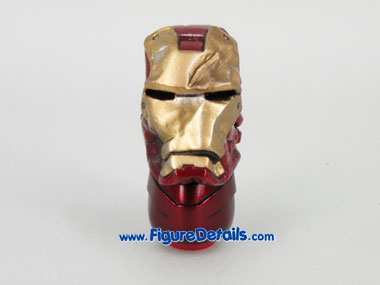 Hot Toys Iron Man Mark III Exclusive Battle Damaged Crushed Helmet