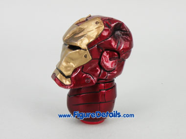 Hot Toys Iron Man Exclusive Battle Damaged Crushed Helmet 3