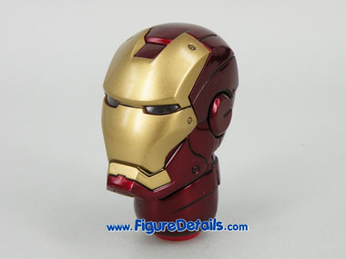 Hot Toys Iron Man Mark 3 Battle Damaged Helmet 2