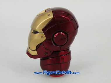 Hot Toys Iron Man Mark 3 Battle Damaged Helmet 3