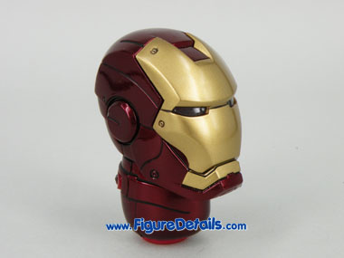 Hot Toys Iron Man Mark 3 Battle Damaged Helmet 5