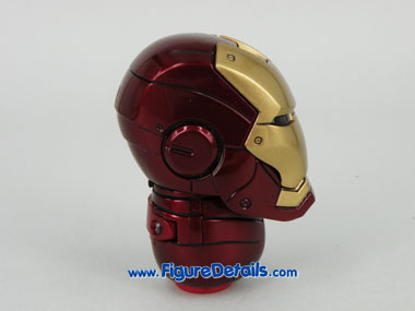 Hot Toys Iron Man Mark 3 Battle Damaged Helmet 6
