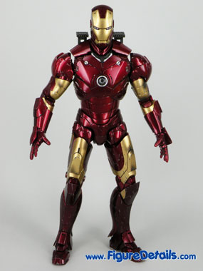 Iron Man Battle Damaged Normal Head Sculpt Reviews 3
