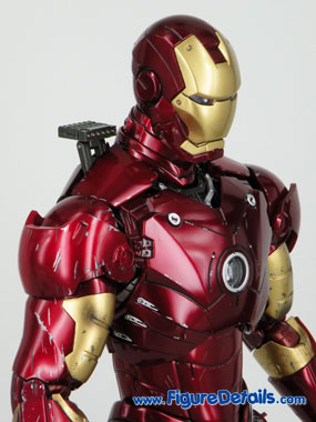 Iron Man Battle Damaged Normal Head Sculpt Reviews 5