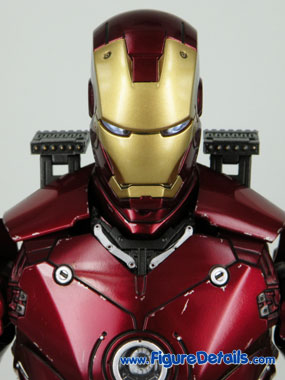 Iron Man Battle Damaged Normal Head Sculpt Reviews 6
