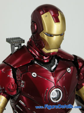Iron Man Battle Damaged Normal Head Sculpt Reviews 7