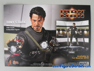Iron Man Mark 3 Battle Damaged Action Figure Packing 14