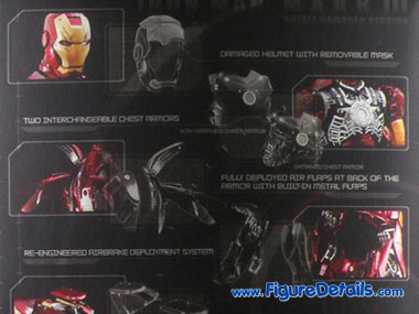 Iron Man Mark 3 Battle Damaged Action Figure Packing 6