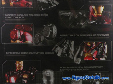 Iron Man Mark 3 Battle Damaged Action Figure Packing 7
