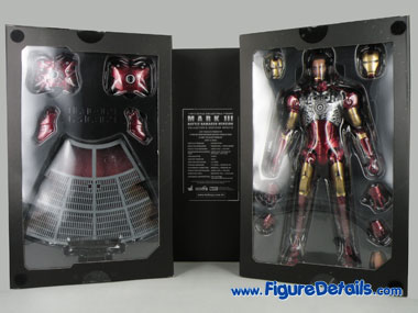 Iron Man Mark 3 Battle Damaged Action Figure Packing 8