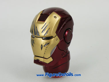Hot Toys Iron Man Mark 3 Tony Stark Head Sculpt 7