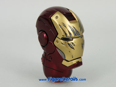 Hot Toys Iron Man Mark 3 Tony Stark Head Sculpt 9