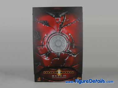 Iron Man Mark 3 Battle Damaged Version MMS110 Box