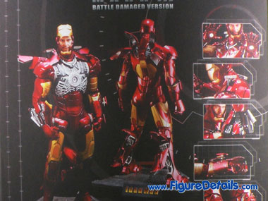 Iron Man Mark 3 Battle Damaged Version MMS110 Box 1