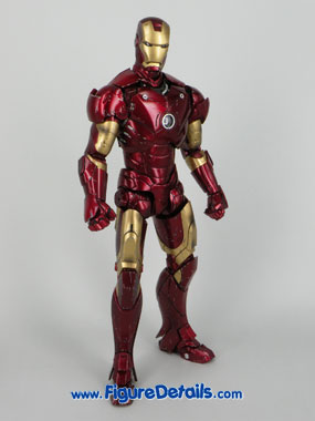 Iron Man Mark 3 Battle Damaged Version Action Figure Overview