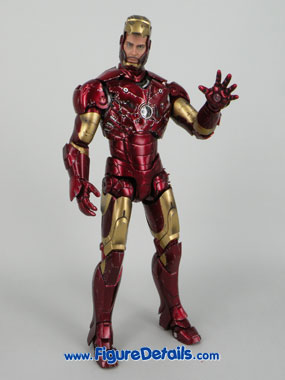 Iron Man Mark 3 Battle Damaged Version Action Figure Overview 2