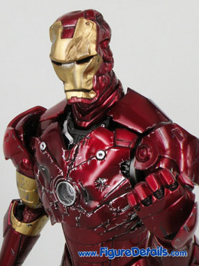 Iron Man Mark 3 Battle Damaged Version Action Figure Overview 3