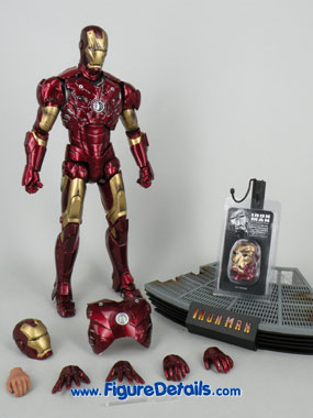 Iron Man Mark 3 Battle Damaged Version Action Figure Overview 4