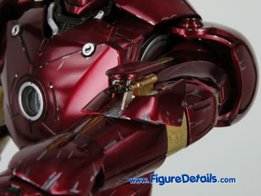 Hot Toys Iron Man Mark 3 Battle Damaged Rocket 2