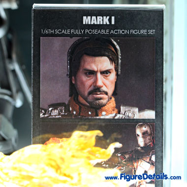 Hot Toys Iron Man Mark 1 - Tony Stark Head Sculpt