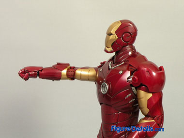 Iron Man Mark 3- Air Flaps & Forearms Missile 5