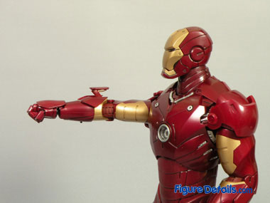 Iron Man Mark 3- Air Flaps & Forearms Missile 6