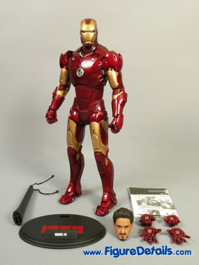 Hot Toys Iron Man Mark III Action Figure MMS75