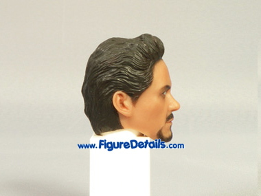 Iron Man Tony Stark Robert Downey Jr. Head Sculpt 5