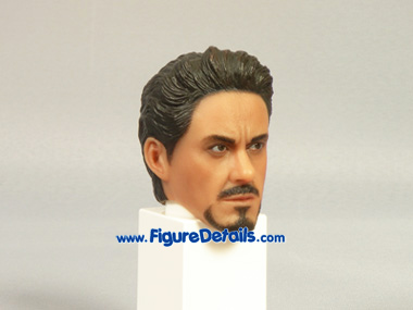 Iron Man Tony Stark Robert Downey Jr. Head Sculpt 6