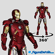 Iron Man Mark 7 VII  - The Avengers - Tony Stark - Hot Toys