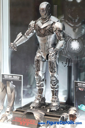 Hot Toys Iron Man Mark II Armor Unleashed Version 3