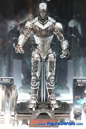 Hot Toys Iron Man Mark II Armor Unleashed Version