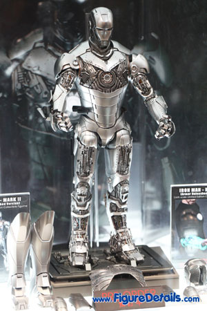 Hot Toys Iron Man Mark II Armor Unleashed Version 1