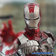 Iron Man Mark V - Iron Man 2 - Hot Toys