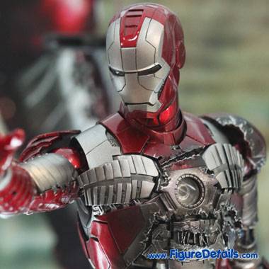 Iron Man Mark V Suits and Mask MMS145 3