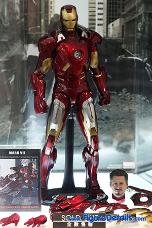 Hot Toys Iron Man Mark VII Figure Overview - The Avengers